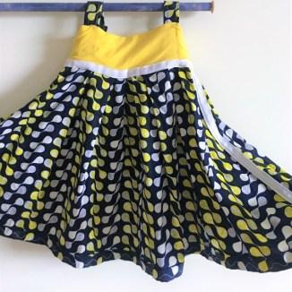 Navy-yellow-africanfabric-flare-baby-kid-dress