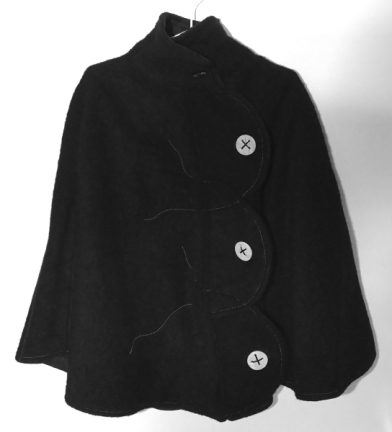 Black-wool-winter-poncho-jacket