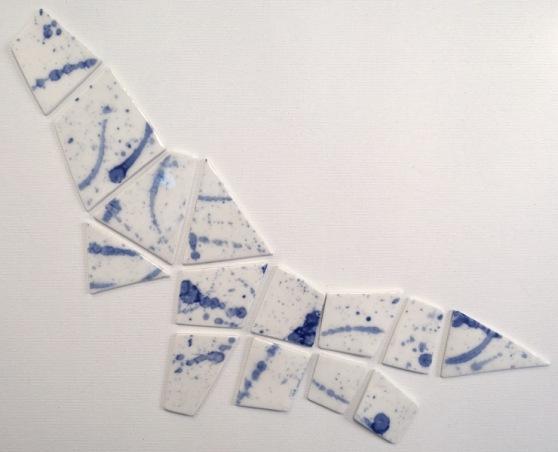 Tableware: mini ceramic plates