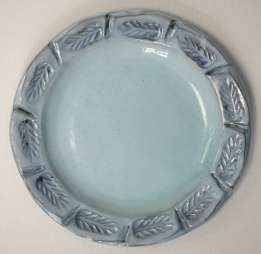 Tableware: ceramic plate